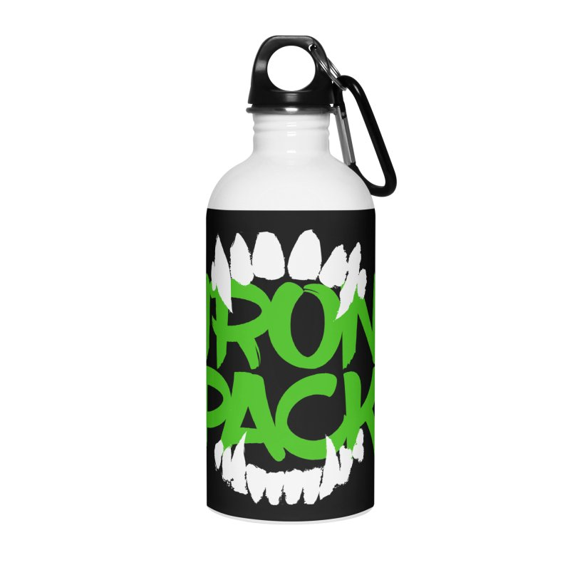 Iron Pack - Green Accessories Water Bottle by My Shirty Life