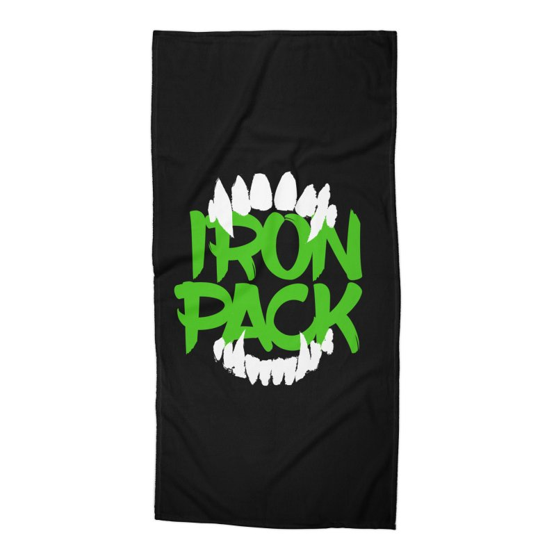 Iron Pack - Green Accessories Beach Towel by My Shirty Life