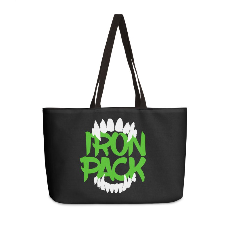 Iron Pack - Green Accessories Weekender Bag Bag by My Shirty Life