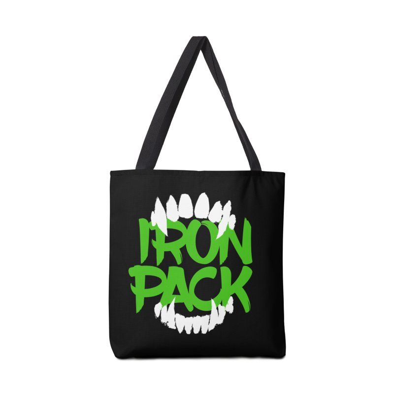 Iron Pack - Green Accessories Tote Bag Bag by My Shirty Life