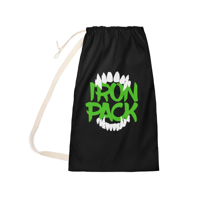 Iron Pack - Green Accessories Laundry Bag Bag by My Shirty Life
