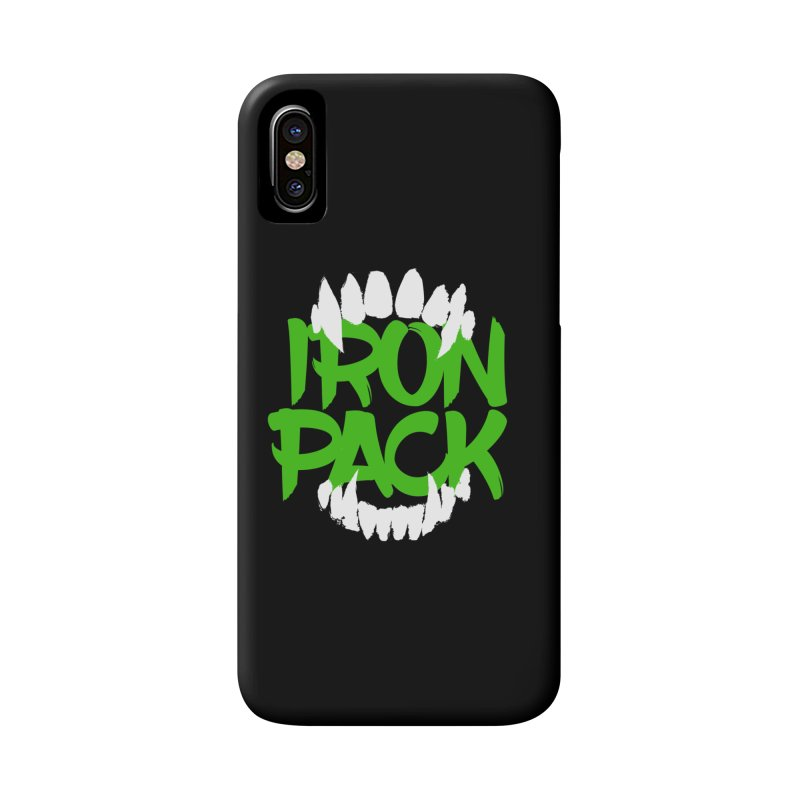 Iron Pack - Green Accessories Phone Case by My Shirty Life