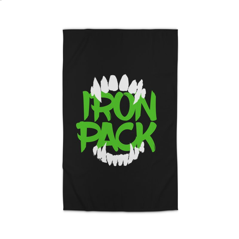 Iron Pack - Green Home Rug by My Shirty Life