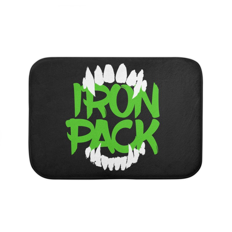 Iron Pack - Green Home Bath Mat by My Shirty Life