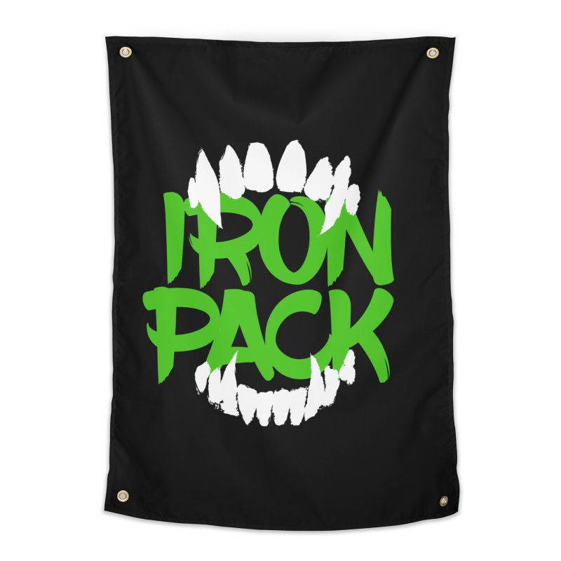 Iron Pack - Green Home Tapestry by My Shirty Life