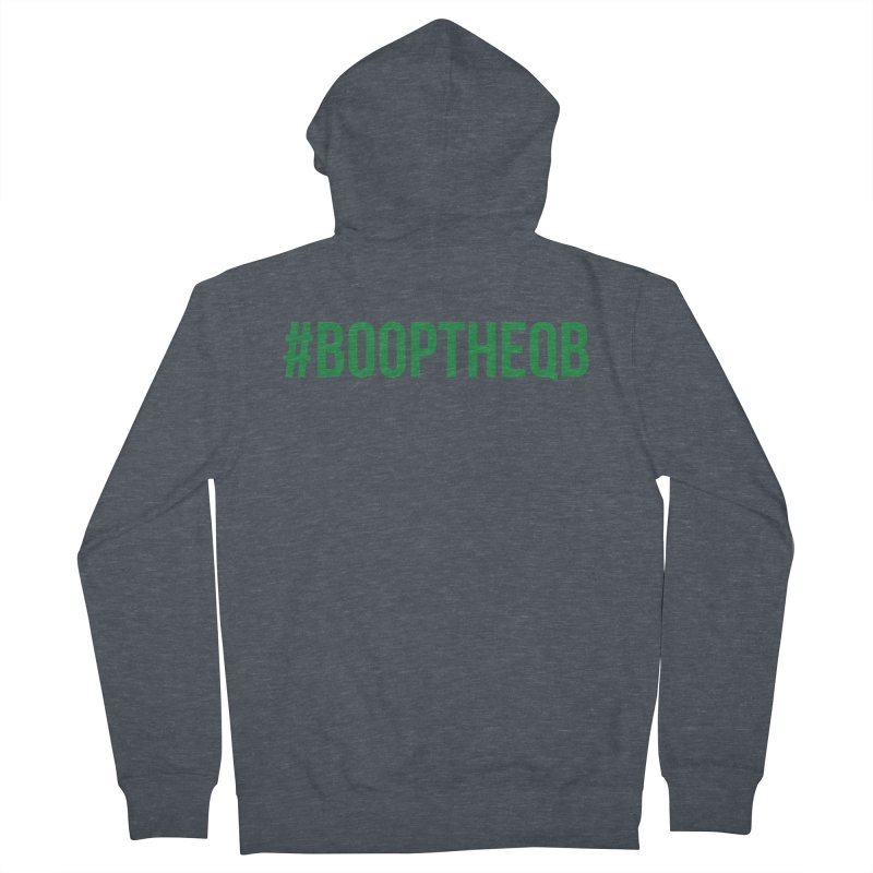 #booptheqb Men's French Terry Zip-Up Hoody by My Shirty Life