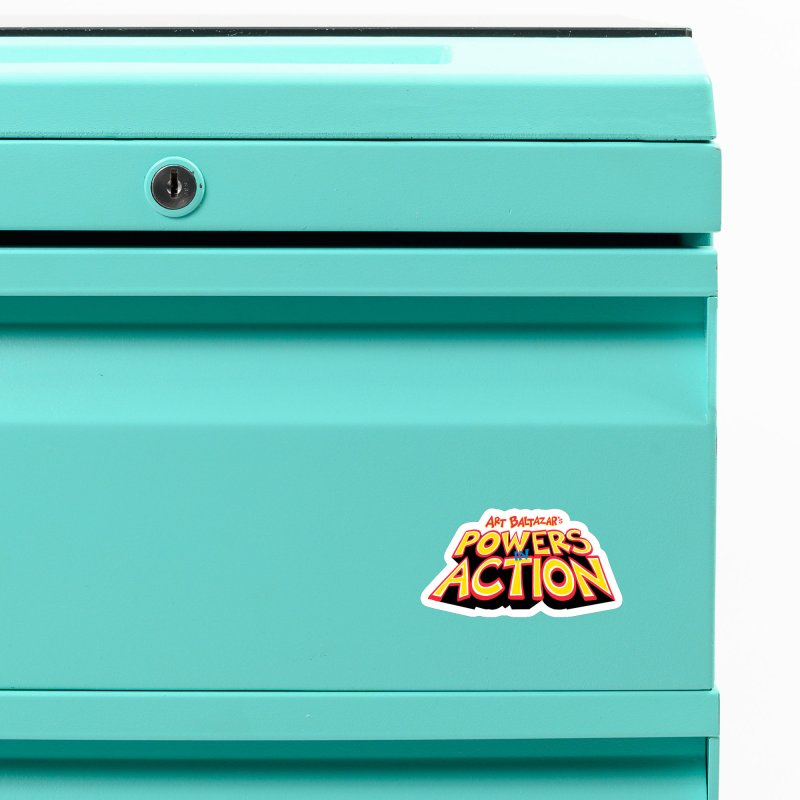 POWERS IN ACTION Accessories Magnet by Art Baltazar