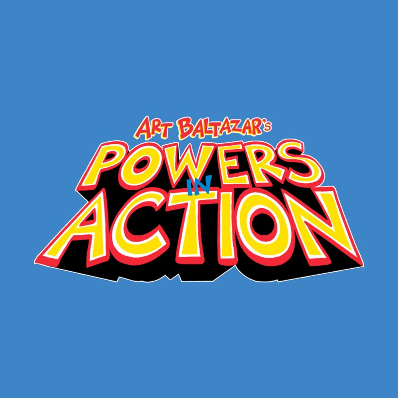 POWERS IN ACTION Accessories Bag by Art Baltazar