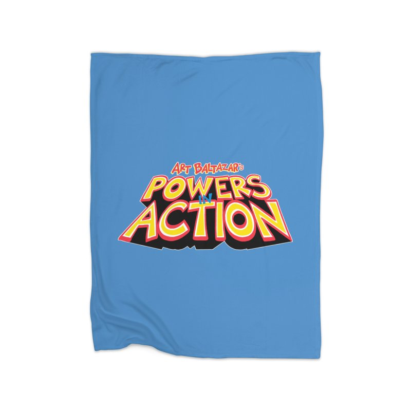 POWERS IN ACTION Home Blanket by Art Baltazar