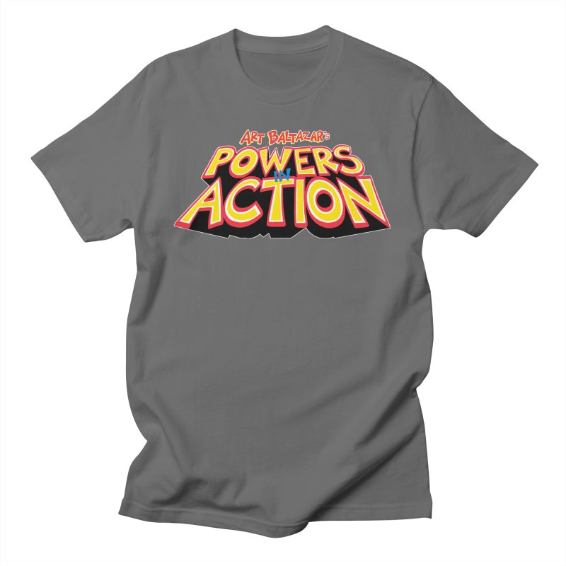 POWERS IN ACTION Men's T-Shirt by Art Baltazar