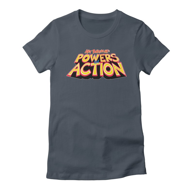 POWERS IN ACTION Women's T-Shirt by Art Baltazar