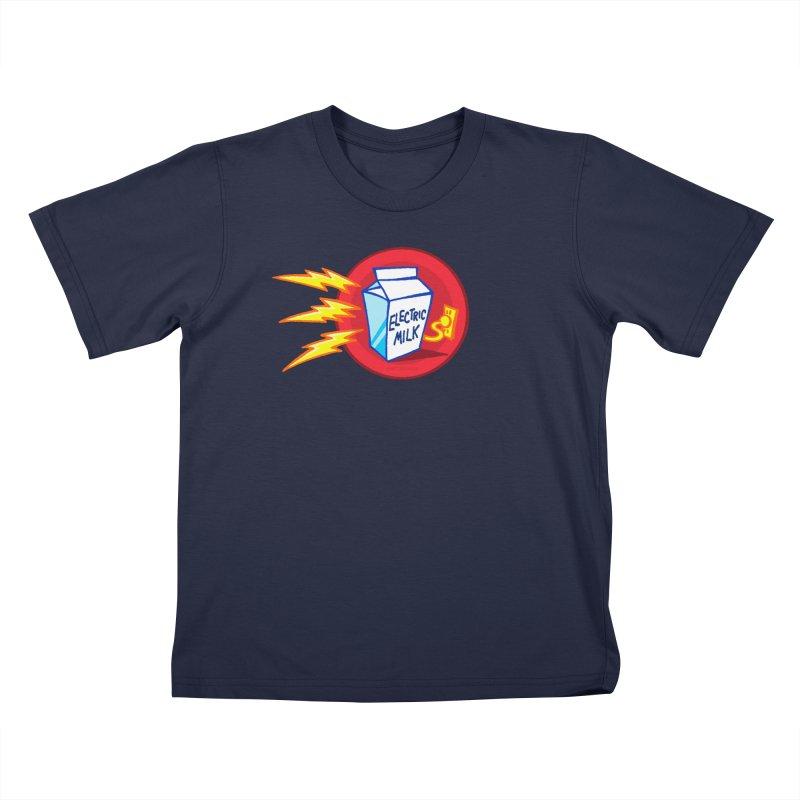 ELECTRIC MILK COMICS! Kids T-Shirt by Art Baltazar