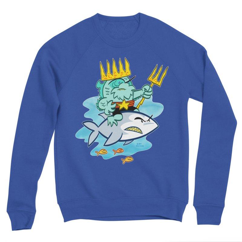 KING NAUTICUS! Women's Sweatshirt by Art Baltazar