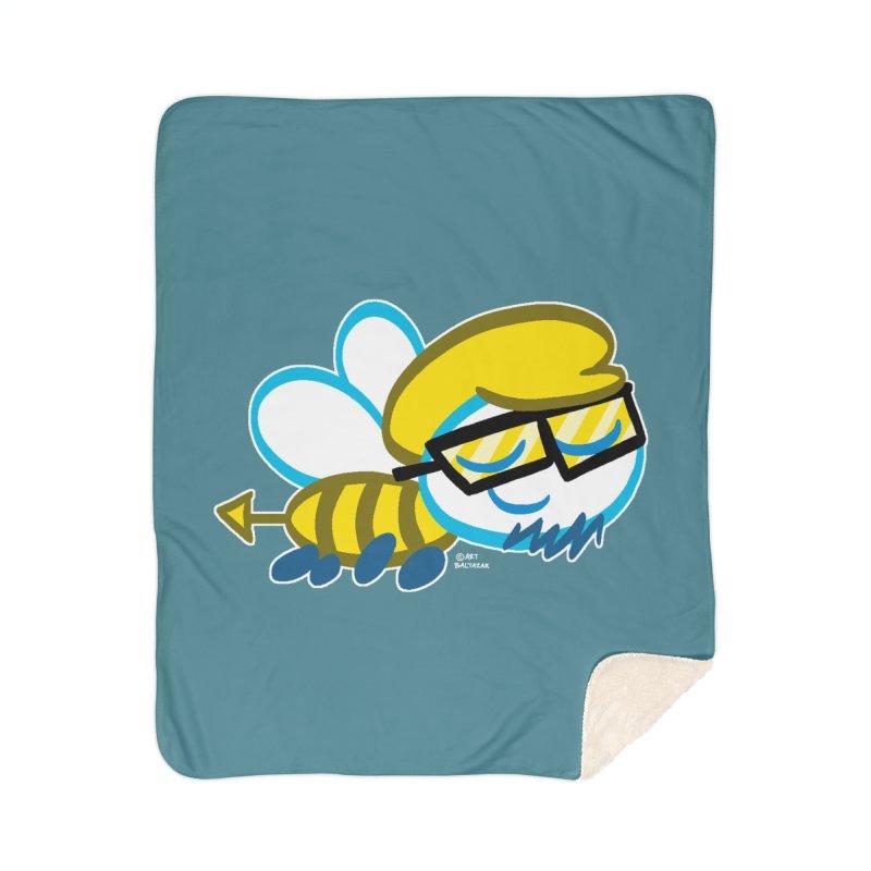 ARTIE BEE Home Blanket by Art Baltazar