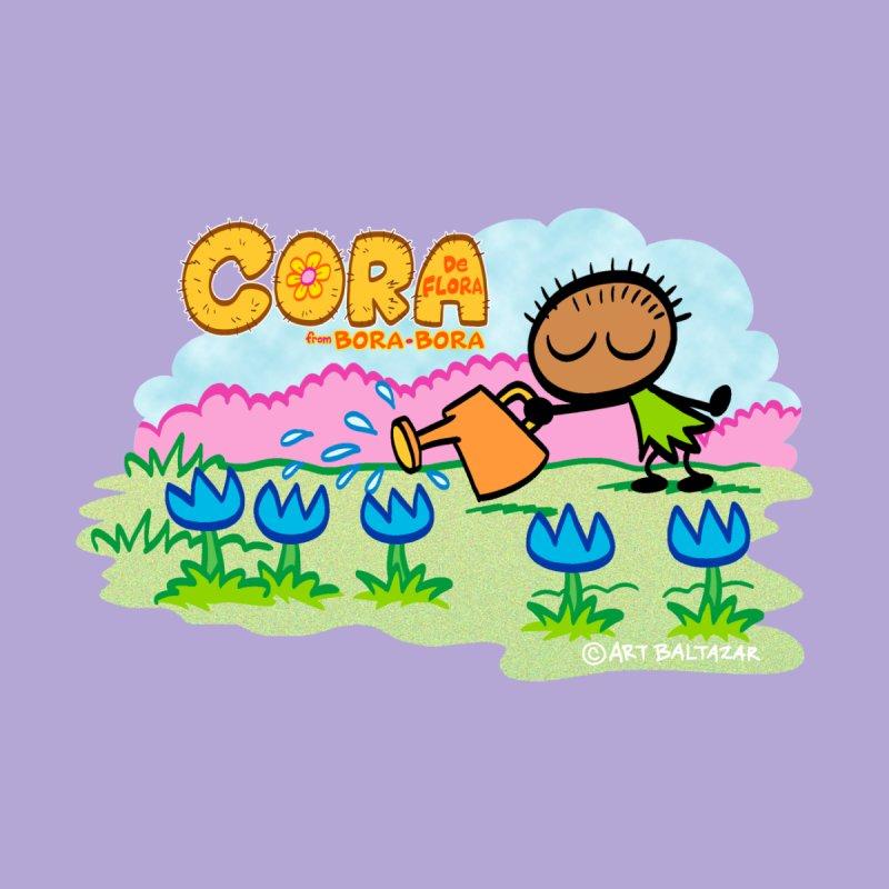 CORA De FLORA from BORA BORA Men's T-Shirt by Art Baltazar