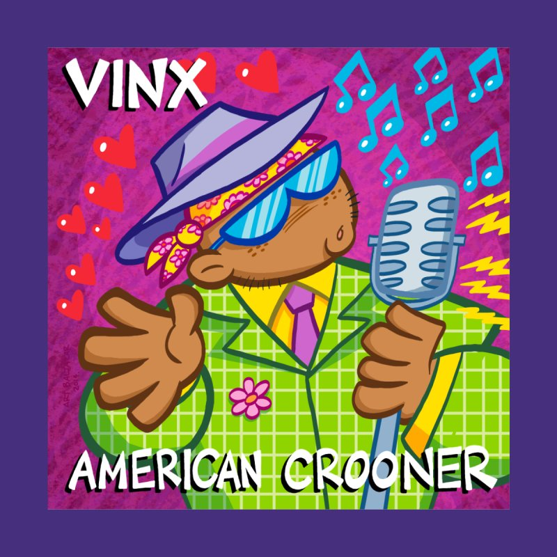 VINX: AMERICAN CROONER Home Blanket by Art Baltazar
