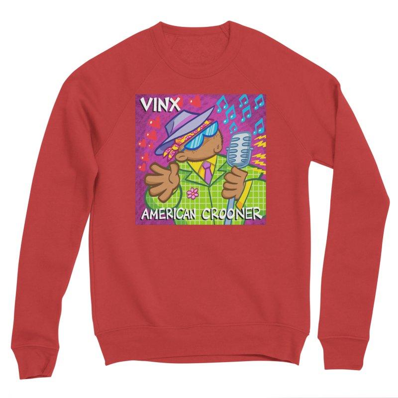 VINX: AMERICAN CROONER Women's Sweatshirt by Art Baltazar