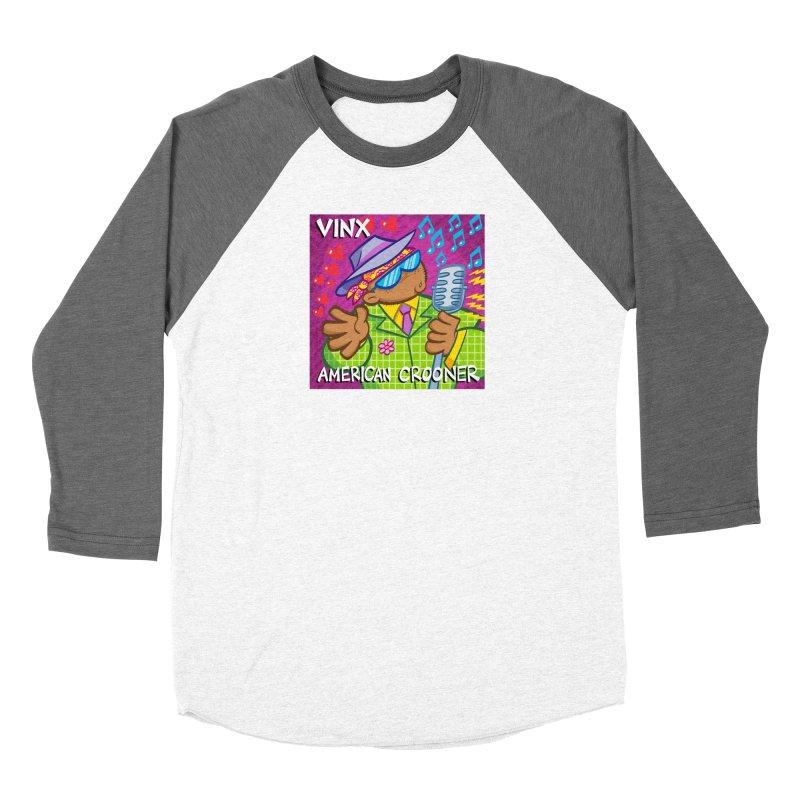 VINX: AMERICAN CROONER Women's Longsleeve T-Shirt by Art Baltazar