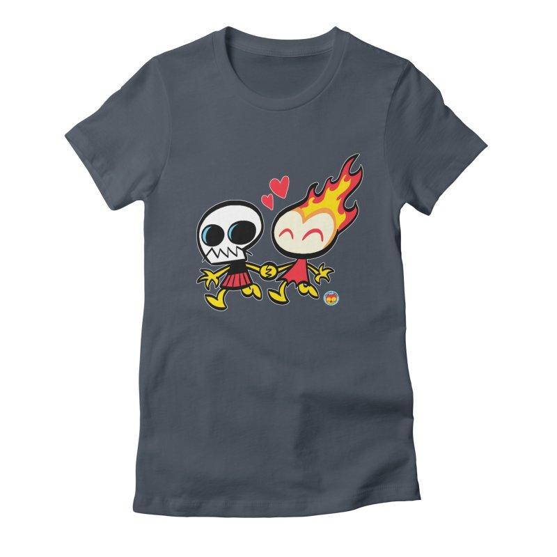 GRIMMISS in LOVE Women's T-Shirt by Art Baltazar