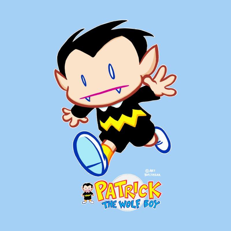 PATRICK the WOLF BOY Men's Longsleeve T-Shirt by Art Baltazar