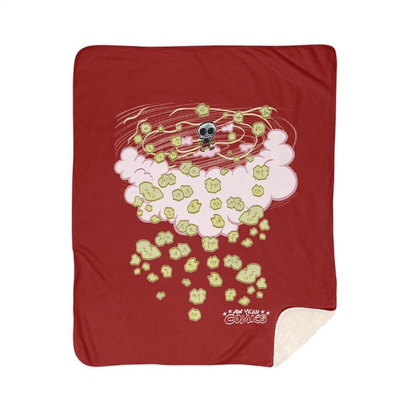EVIL GRIMMISS Home Blanket by Art Baltazar