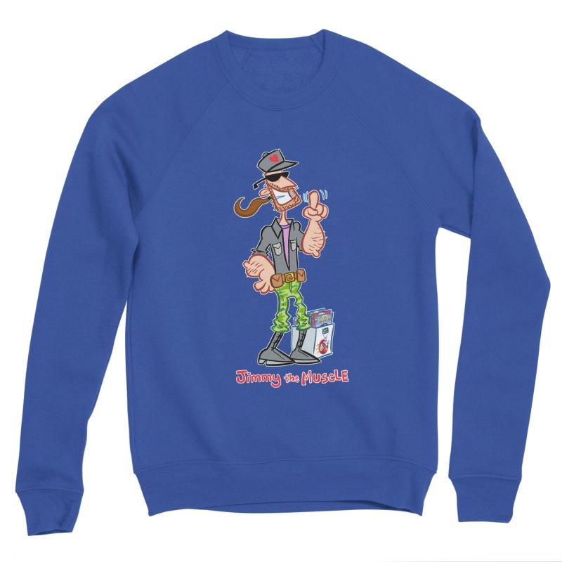 JIMMY THE MUSCLE Women's Sweatshirt by Art Baltazar