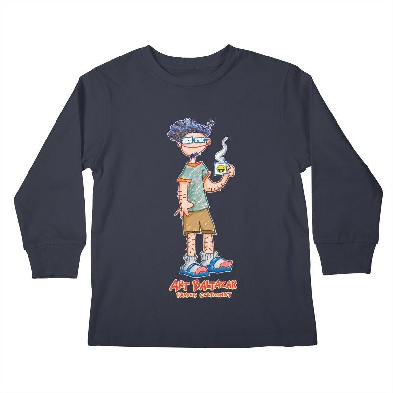 ART BALTAZAR FAMOUS CARTOONIST Kids Longsleeve T-Shirt by Art Baltazar