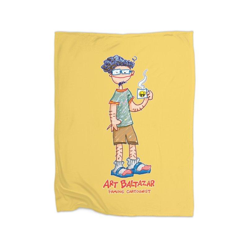 ART BALTAZAR FAMOUS CARTOONIST Home Blanket by Art Baltazar