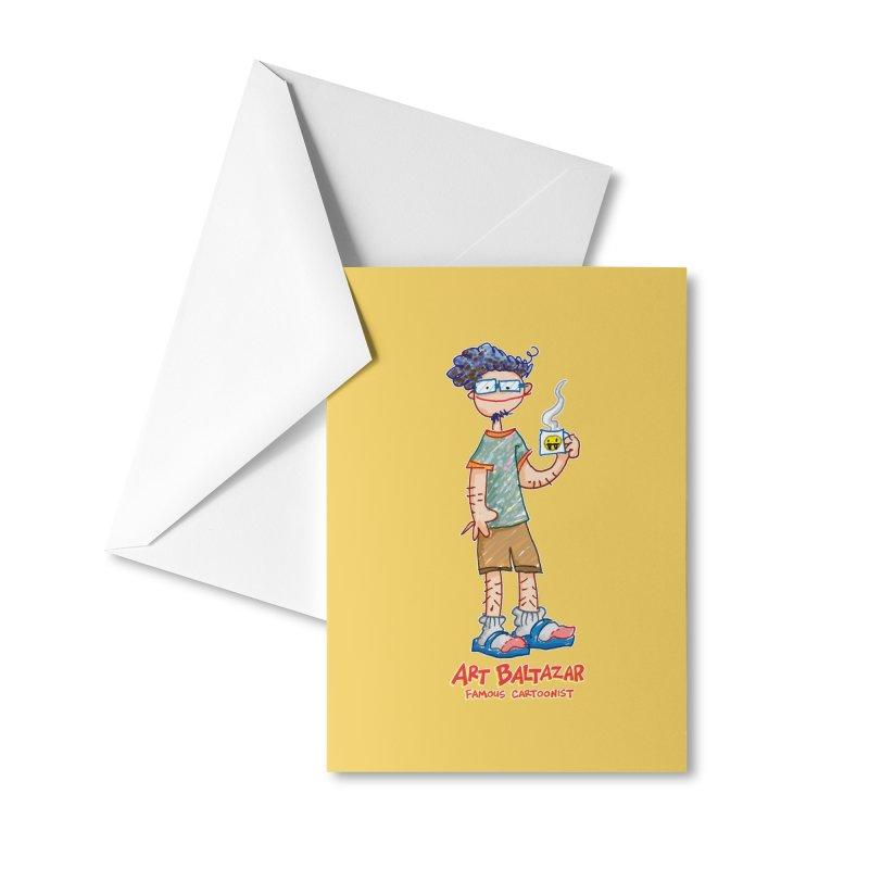 ART BALTAZAR FAMOUS CARTOONIST Accessories Greeting Card by Art Baltazar