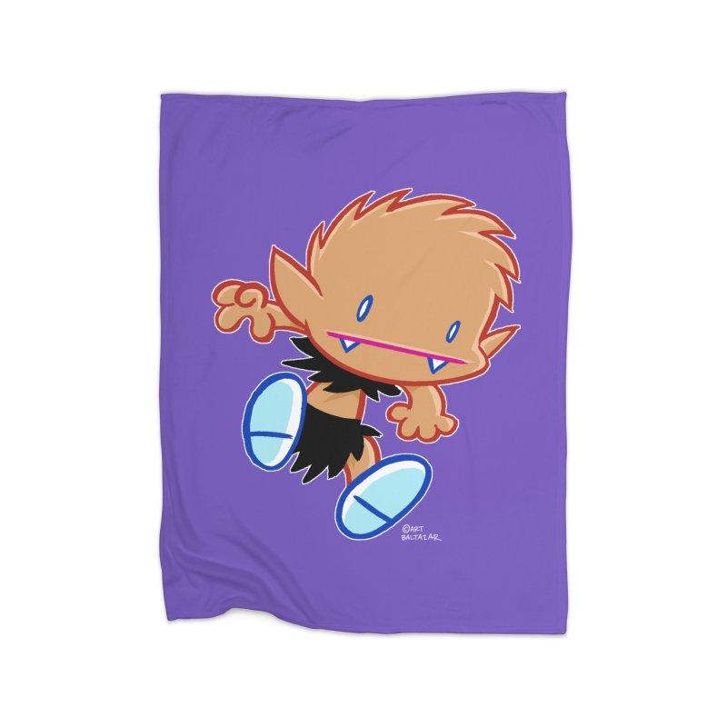 PATRICK the WOLF BOY 2 Home Blanket by Art Baltazar