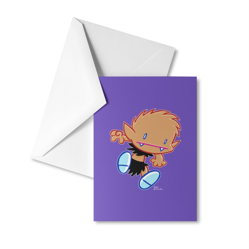 PATRICK the WOLF BOY 2 Accessories Greeting Card by Art Baltazar