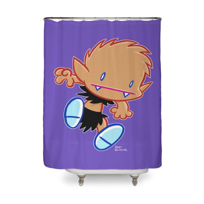 PATRICK the WOLF BOY 2 Home Shower Curtain by Art Baltazar