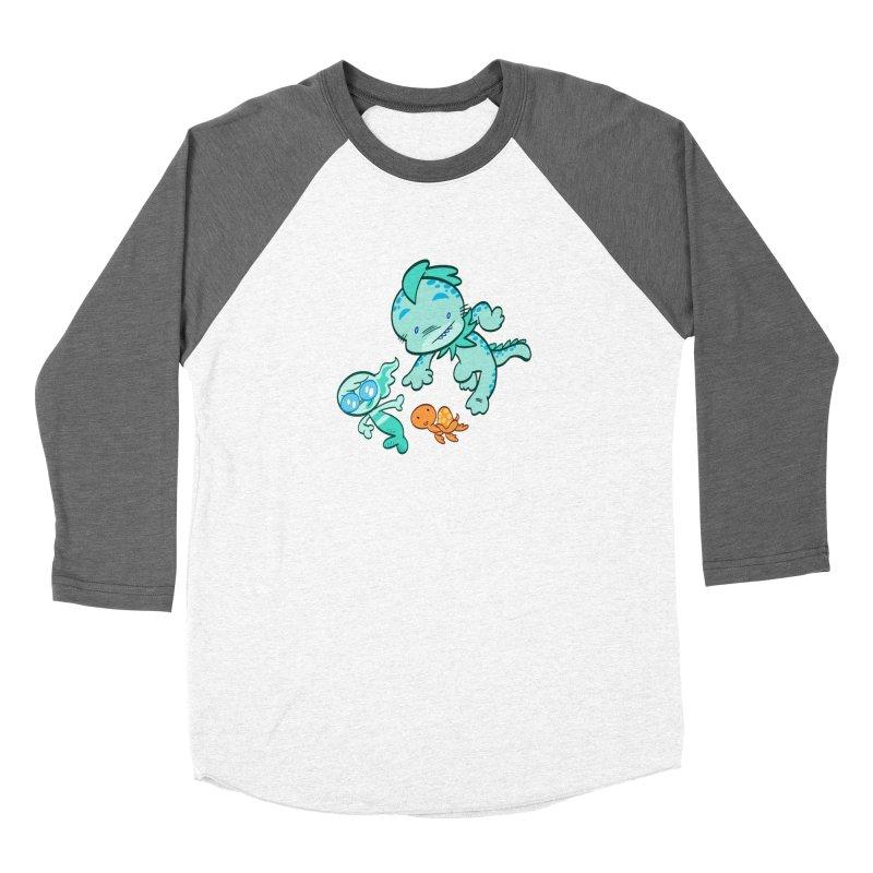 GILLBERT the Little MERMAN & Friends Women's Longsleeve T-Shirt by Art Baltazar