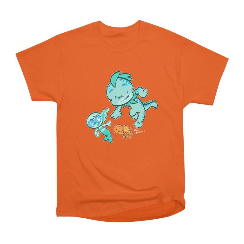GILLBERT the Little MERMAN & Friends Women's T-Shirt by Art Baltazar