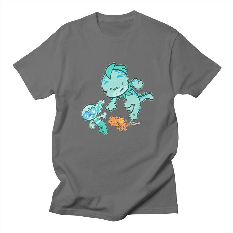 GILLBERT the Little MERMAN & Friends Men's T-Shirt by Art Baltazar