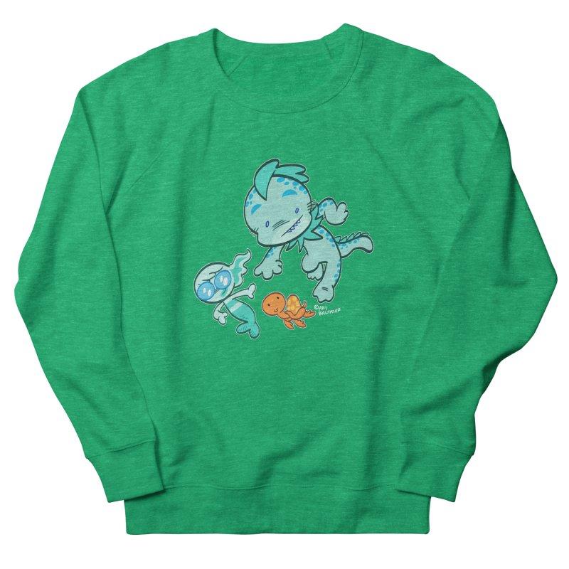 GILLBERT the Little MERMAN & Friends Women's Sweatshirt by Art Baltazar