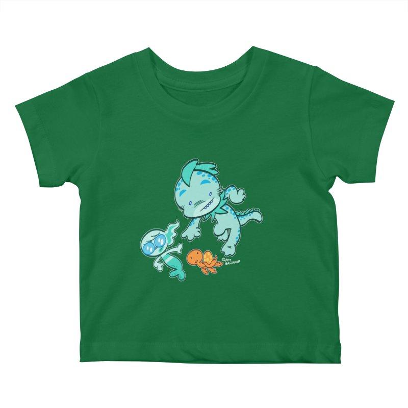 GILLBERT the Little MERMAN & Friends Kids Baby T-Shirt by Art Baltazar