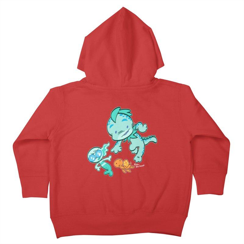 GILLBERT the Little MERMAN & Friends Kids Toddler Zip-Up Hoody by Art Baltazar