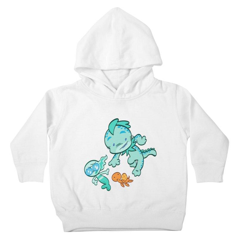 GILLBERT the Little MERMAN & Friends Kids Toddler Pullover Hoody by Art Baltazar