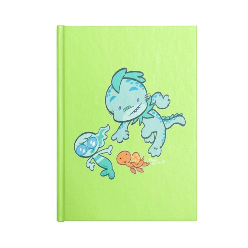 GILLBERT the Little MERMAN & Friends Accessories Notebook by Art Baltazar