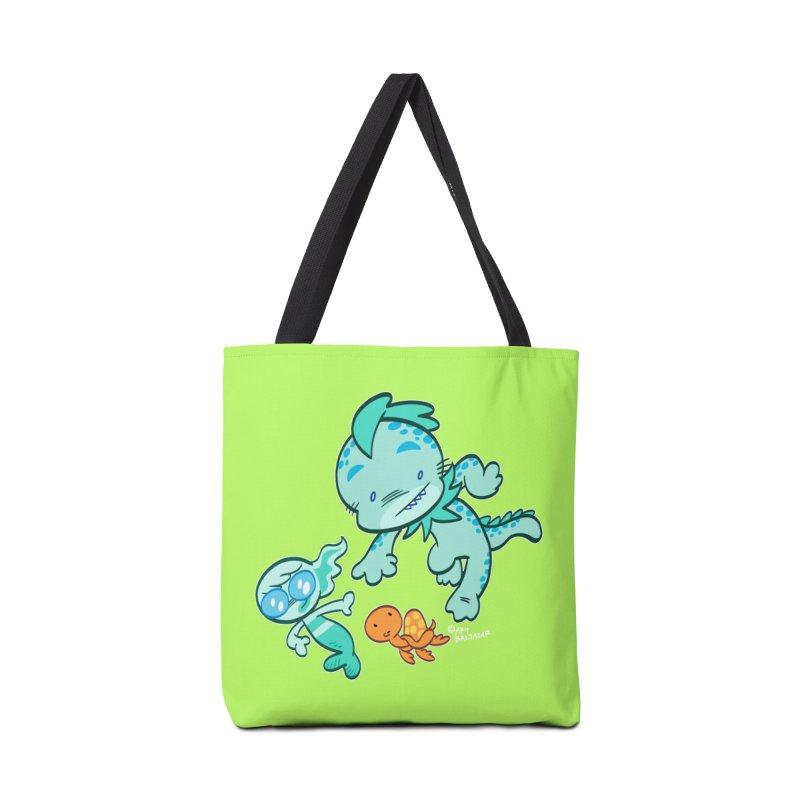 GILLBERT the Little MERMAN & Friends Accessories Bag by Art Baltazar