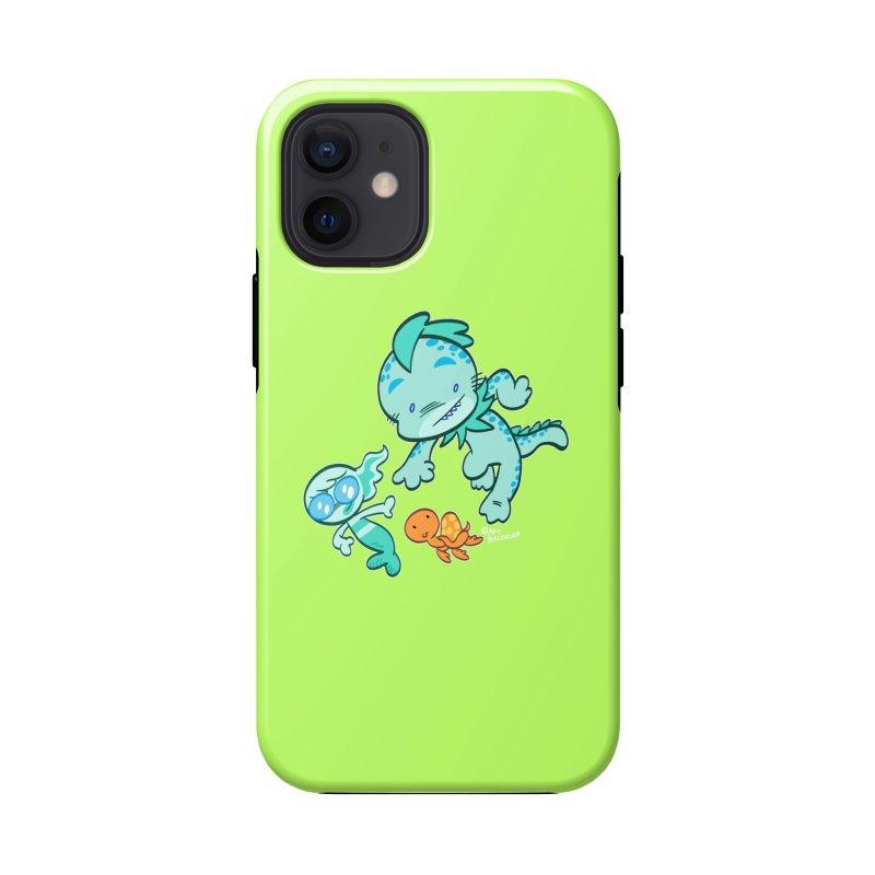 GILLBERT the Little MERMAN & Friends Accessories Phone Case by Art Baltazar