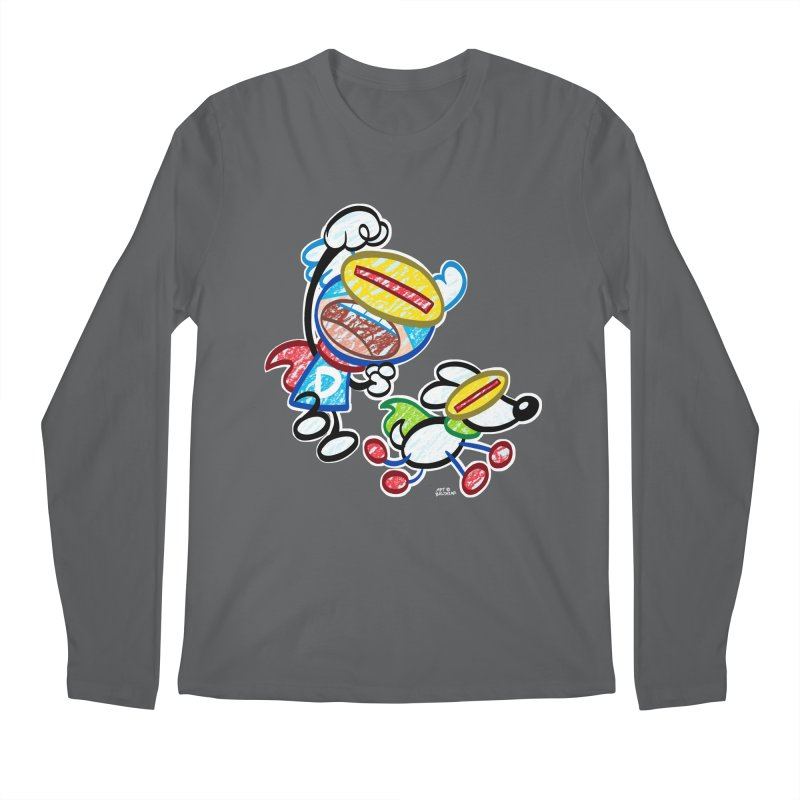 DREW & JOT Men's Longsleeve T-Shirt by Art Baltazar