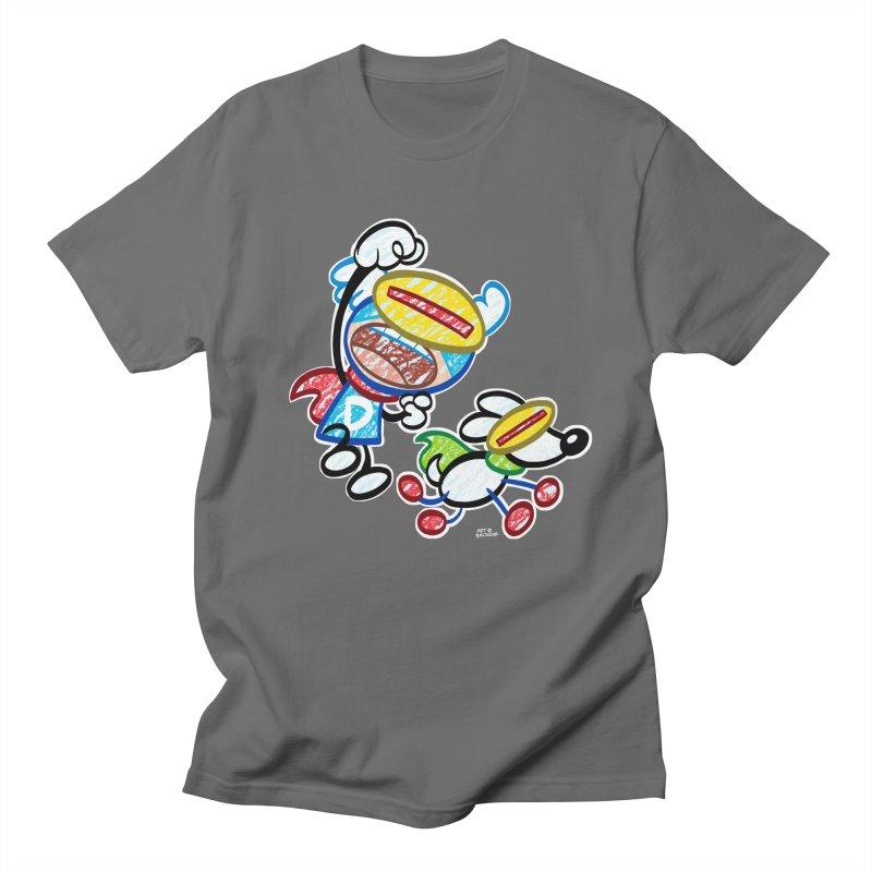 DREW & JOT Men's T-Shirt by Art Baltazar