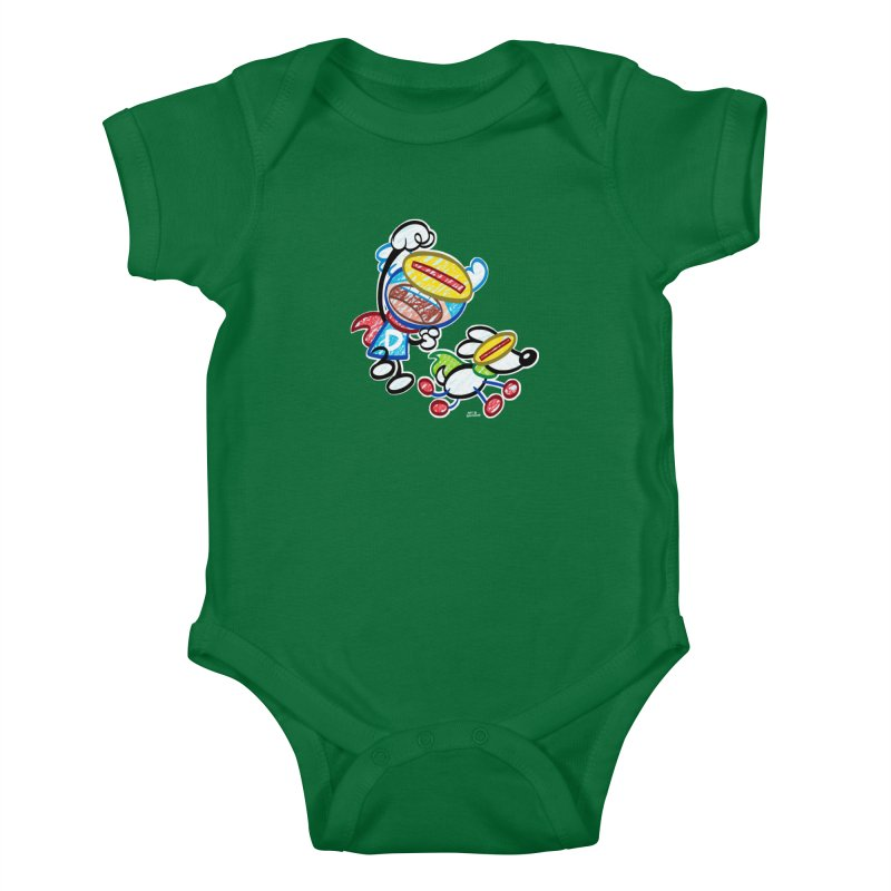 DREW & JOT Kids Baby Bodysuit by Art Baltazar