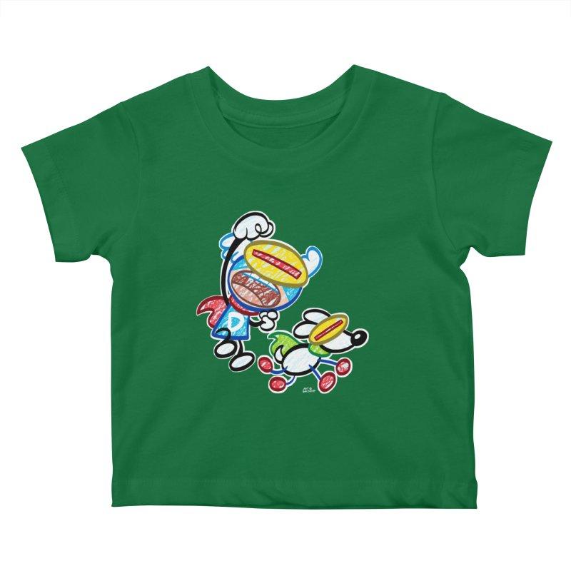 DREW & JOT Kids Baby T-Shirt by Art Baltazar