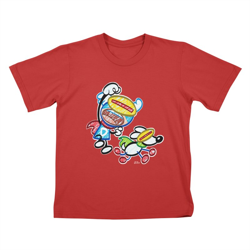 DREW & JOT Kids T-Shirt by Art Baltazar