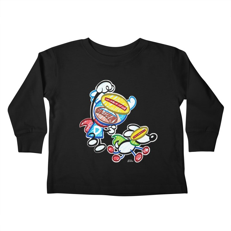 DREW & JOT Kids Toddler Longsleeve T-Shirt by Art Baltazar
