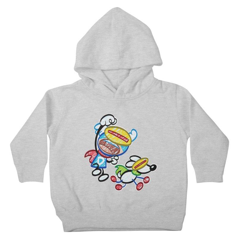 DREW & JOT Kids Toddler Pullover Hoody by Art Baltazar