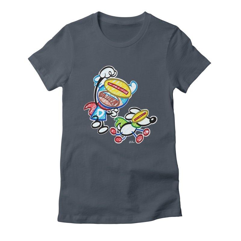 DREW & JOT Women's T-Shirt by Art Baltazar